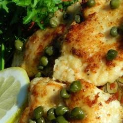 My Best Chicken Piccata Recipe - Golden-brown pieces of chicken breast are served in a light lemon and white wine sauce in this easy, quick main dish that's pretty enough for company.