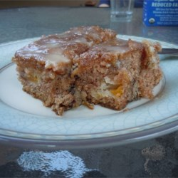 Peach Cake II Recipe - This is a recipe that my mother gave me several years ago, and we enjoy it often. I use canned peaches, but fresh would be nice.