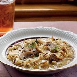 Chicken, Mushroom, and Wild Rice Soup
