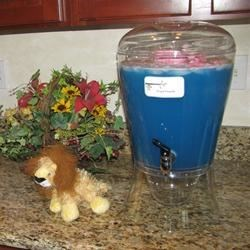Blue Punch for Baby Shower