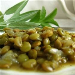 Hearty Savory Lentils