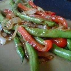 Spicy Green Bean Saute