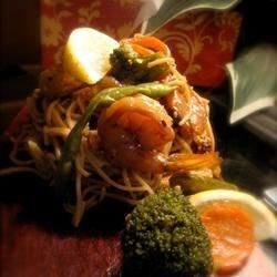 Orange Ginger Shrimp Stir-Fry