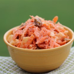 Carrot-Raisin Salad (Bunny Salad)