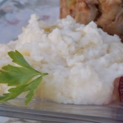 Garlic Mashed Potatoes In The Slow Cooker Recipe - You can use your slow cooker to keep a big batch of creamy garlic mashed potatoes warm while you turn your attention to the rest of the meal.