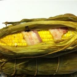 Smoked Bacon Corn on the Cob