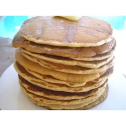 Whole Wheat Pancake Mix Recipe - Keep a container of this handy homemade baking mix in your pantry for quick pancakes or waffles anytime you get a craving.