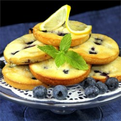 Fresh Blueberry Cakes