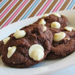 White Chip Chocolate Cookies