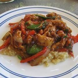 Szechuan Chicken & Quinoa