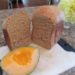 Fresh Cantaloupe Bread