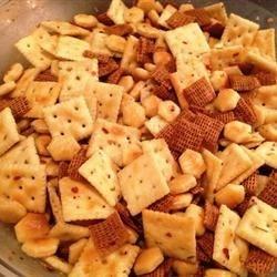 Crackers a la Yvette