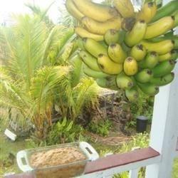 Rack with Banana Banana Bread