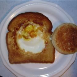 Sunshine Toast (we call it Gas House Egg)