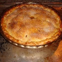 Emily's Famous Apple Pie Recipe - This is the easiest apple pie in the world to make. I like to use fresh Granny Smith apples. For special occasions I make a lattice top for this all-American treat!
