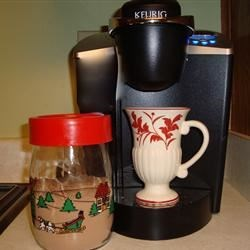 Instant Hot Cocoa Mix Recipe - This easy to make creamy hot chocolate mix makes a great gift! You simply mix together cocoa, SPLENDA(R), powdered creamer and powdered milk.