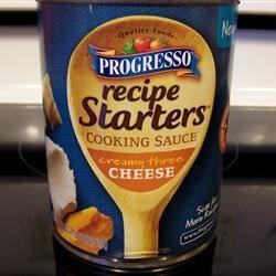 Progresso - Recipe Starters - Creamy three cheese