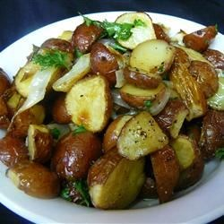 Oven Baked Parsley Red Potatoes