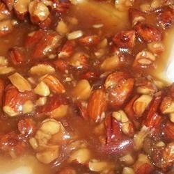 Vegan almond pralines