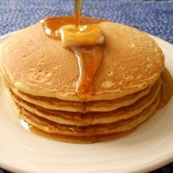 Cornbread Pancakes Recipe - These cornbread pancakes are requested regularly by my family for breakfast.  The recipe is easy to throw together and the taste is yummy!