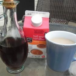 Syrup for coffee