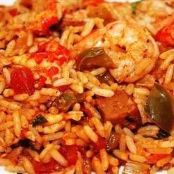 New Orleans Shrimp & Crawfish Jambalaya