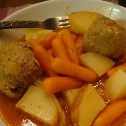 MOM'S VEAL BALLS