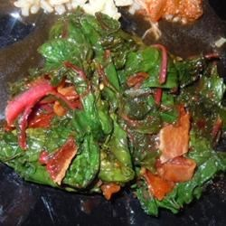 Hot and Sour Swiss Chard