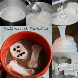 Homemade Marshmallows--Step by Step