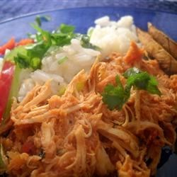 Chicken Ropa Vieja Recipe - Ropa Vieja is a mainstay of the Cuban-American diet. It's traditionally made with skirt steak, a stringy cut of meat with the poetic name fajita (girdle) in Spanish. This recipe uses chicken breast and is fantastic; the leftovers are even better. It is wonderful served with white rice and fried plantains or a pineapple-coconut slaw.