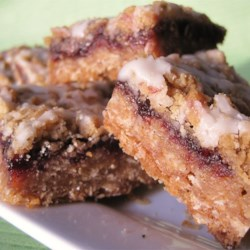 Chewy Blackberry Squares