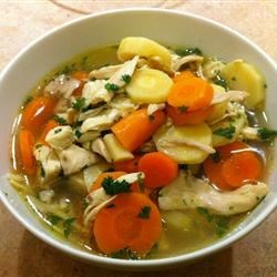Home Made Chicken Noodle Soup! Recipe - Use your fall bounty of carrots and parsnips as well as a whole chicken to make a zesty homemade chicken noodle soup.