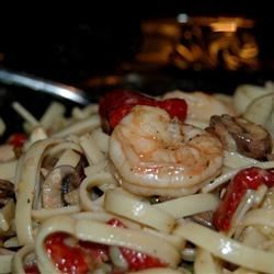 Blackened Shrimp Stroganoff
