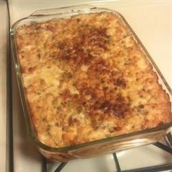 Pea and panchetta mac n cheese