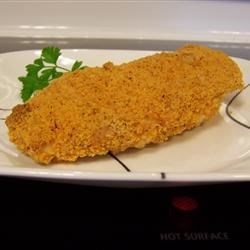 Cheddar Jack Cheezit Encrusted Chicken