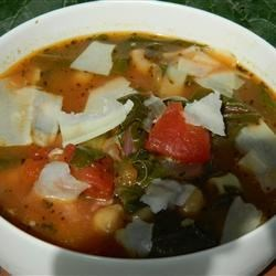 Chef John's Minestrone Soup Recipe - A great Italian soup that incorporates a wide variety of vegetables and is topped with flavorful Parmesan cheese.