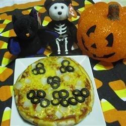 "Mini ""Creepy"" Pizza"