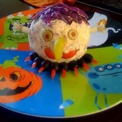 Halloween Monster Cheese Ball