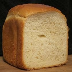 Ron's Bread Machine White Recipe - Another white yeast bread from the bread machine, this one features both all-purpose and bread machine flours along with egg and powdered milk.