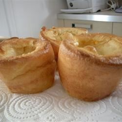 Yorkshire Pudding I Recipe - A holiday baked favorite made with flour, eggs, milk and butter.