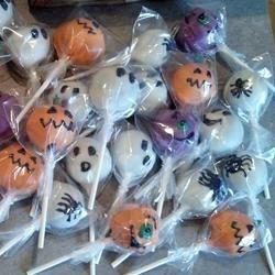Halloween Cake Pops!