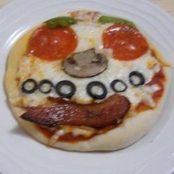 Creepy Mini Pizzas