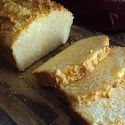Cheese Loaf Recipe - Cheese is the star of this easy quick bread.  Use for breakfast, an addition to any meal, or just as a snack!