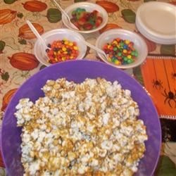 Caramel Corn Treat Bags from Karo here on AR, delish!