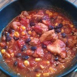 Sweet Pork Slow Cooker Chili