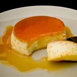 Coconut Milk Flan