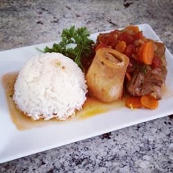 Traditional Osso Buco Recipe - This recipe is a traditional but simple way of cooking Osso Buco (veal shanks). The white wine is a must in this dish.