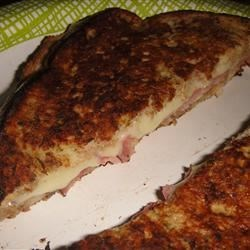 Grandma's Italian Grilled Cheese Sandwich