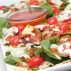 Heart of Palm and Spinach Salad
