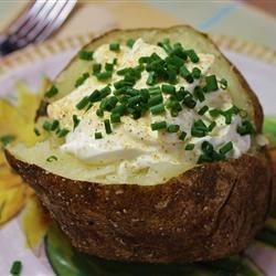 Garlic Baked Potato